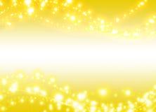 Perla de oro Foto de archivo