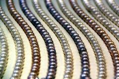 Perla de oro hermosa Fotografía de archivo libre de regalías