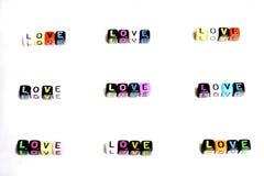 Perla della luce della nota di alfabeto della lettera Fotografie Stock