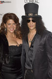 Perla Ferrar,Slash,Velvet Revolver Royalty Free Stock Photo