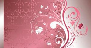 Perla floral stock de ilustración