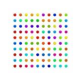 Perla, sistema colorido del caramelo ilustración del vector