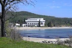 Perla strand, Bulgarien Royaltyfria Bilder