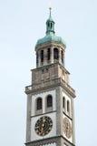 Perlachturm στο Άουγκσμπουργκ Στοκ Εικόνες