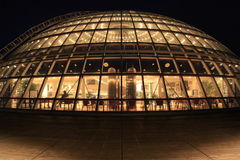 Perlan glass dome at night, Reykjavik, Iceland Royalty Free Stock Photos