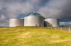 Perlan Reykjavik Island. Arkivfoton