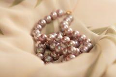 Perlas Fotografía de archivo libre de regalías