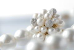 Perlas Foto de archivo