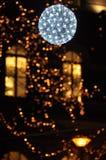 Perlas de Navidad - copo de nieve gigante Fotos de archivo