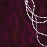 Perlas rosadas Fotos de archivo