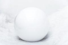 Perle blanche Image libre de droits