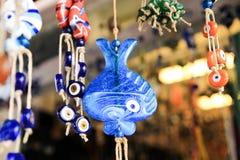 Perle bleue Photo stock