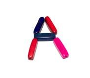 Perle colorate A Fotografia Stock Libera da Diritti