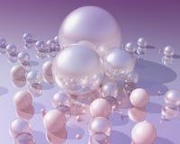Perle 3D lizenzfreie abbildung