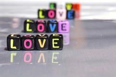 Perle de lumière de note d'alphabet de lettre Photographie stock