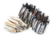 perle de mère de bracelets Photographie stock libre de droits