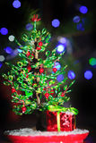 Perle de sapin de Noël Images stock