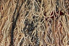 Perle dell'acqua dolce fotografia stock