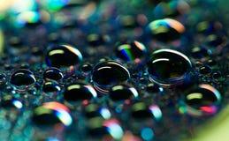 Perle delle gocce di acqua Fotografia Stock Libera da Diritti