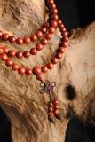 Perle di legno Immagine Stock