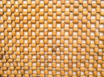 Perle di legno intrecciate Immagini Stock