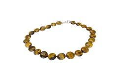 Perle di pietra naturali Fotografia Stock