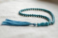 Perle di turchese 108 oggetti Immagine Stock