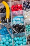 Perle faisant des accessoires Photos libres de droits