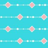 Perle le fond sans couture de modèle Couverture colorée lumineuse graphique abstraite simple de base Photos stock