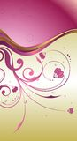 Perle mit Blumen   Lizenzfreies Stockbild