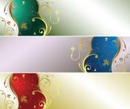 Perle mit Blumen Stockbild