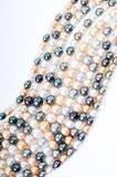 Perle multicolori fotografie stock