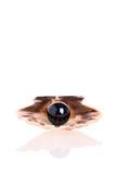 Perle noire Photo libre de droits