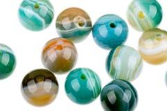 Perle rotonde del diaspro immagini stock