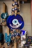 Perle turque d'oeil mauvais comme souvenir d'amulette photo stock