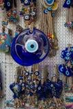 Perle turque d'oeil mauvais comme souvenir d'amulette photos libres de droits