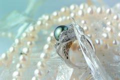 Perlen Stockfotografie