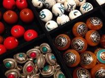 Perlen für Handwerk Stockfotos