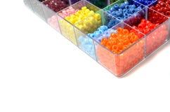 Perlen für Handwerks-Schmuck Lizenzfreies Stockfoto