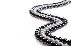 Perlen-Halskette Stockbilder