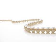 Perlen-Halskette stockfoto