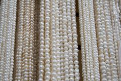 Perlen-Halsketten Stockfotos