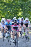 Perlen-Izumi Tour Series Bicycle Race-Schluss im Bad England Lizenzfreie Stockbilder