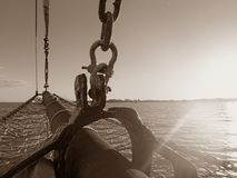 Perlen-Logger, Broome, West-Australien Lizenzfreie Stockfotografie