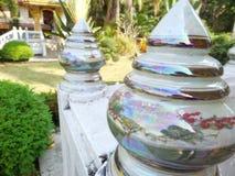 Perlen-Lotus-Säulenkopf lizenzfreies stockbild
