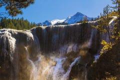 Perlen-Massen-Wasserfall Lizenzfreies Stockbild