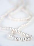Perlen Sie Halskette Stockbild