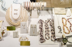 Perlen-Speicher Lizenzfreie Stockbilder