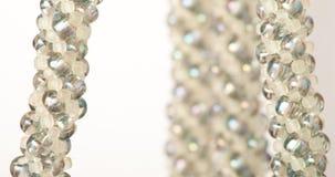 Perlenbesetzter Schmuck stockfoto