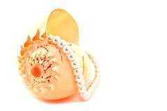 Perlenhalskette Stockbilder